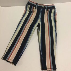 Gymboree Stripped Skinny Jeans - Baby